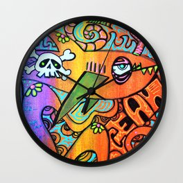 Ocean By The Sea Wall Clock
