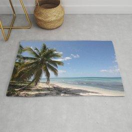 Isla Saona Caribbean Paradise Beach Rug