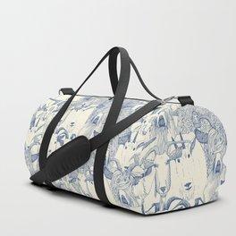 just goats classic blue pearl Duffle Bag