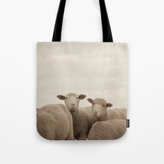 Smiling Sheep  Tote Bag