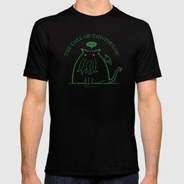 The Call of Cat-thulhu T-shirt