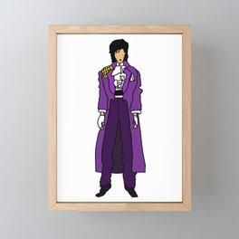 Ultraviolet Purple One 5 Framed Mini Art Print