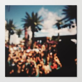 Vegas, baby Canvas Print
