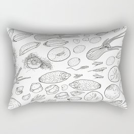 Exploration of the Seed Vault Rectangular Pillow