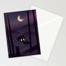 Silent Watcher Stationery Cards