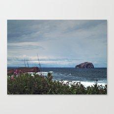 Bass Rock Canvas Print