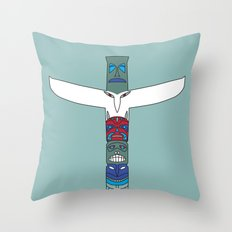 Totem Spirit Throw Pillow