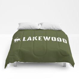 Deer: Lakewood, Colorado Comforters
