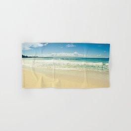 kapalua beach maui hawaii Hand & Bath Towel