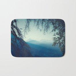 Blue Mountain Morning Badematte