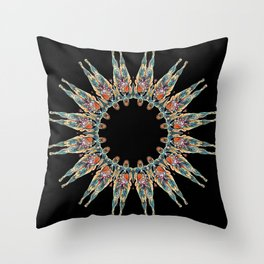 BONES AND SINEW Throw Pillow