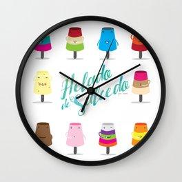 Salcedo's Ice-Cream 2.0 :: Helado de Salcedo 2.0 Wall Clock