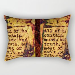 Twain Times Rectangular Pillow