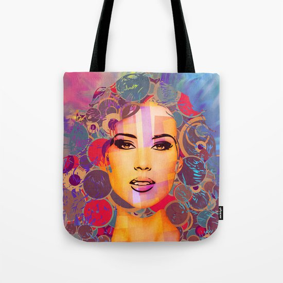 Mimicry, face Tote Bag