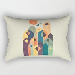 Ancient city Rectangular Pillow