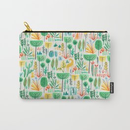 Jungle life with golden unicorn Carry-All Pouch