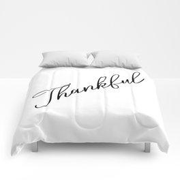 Thankful Comforters