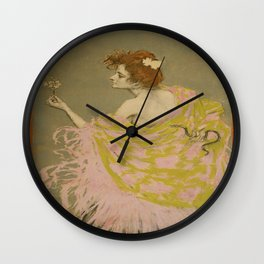 Vintage poster - Sifilis Wall Clock