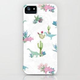 Triassic Garden iPhone Case