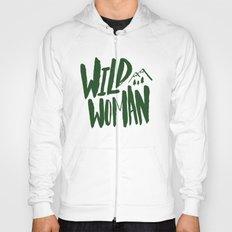 Wild Woman x Green Hoody