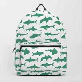 Ocean Green Sharks Backpack