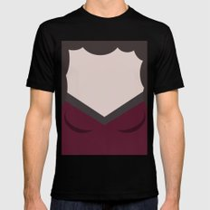 Deanna Troi - Minimalist Star Trek TNG The Next Generation - 1701 D - startrek - Trektangles MEDIUM Black Mens Fitted Tee
