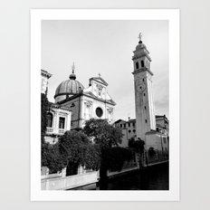 San Giorgio dei Greci Church Venice Art Print