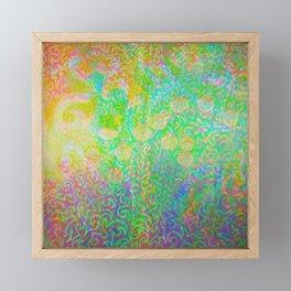 Sqwiggle Trip Framed Mini Art Print