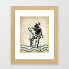 Blooze Framed Art Print