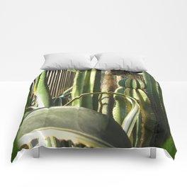Cactus Garden Blank P1F0 Comforters
