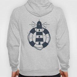 Lighthouse. Nautical Hoody