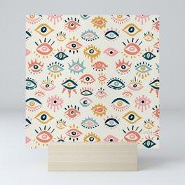Mystic Eyes – Primary Palette Mini Art Print