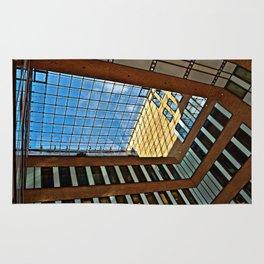 Modern office building in Hamburg Rug