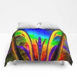 Fertile imagination 7 Rainbow Flower Comforters
