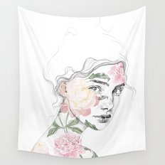 Botanical #1 Wall Tapestry