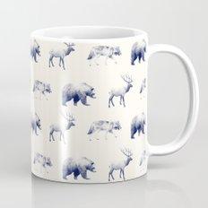 Wild Pattern // Blue Mug