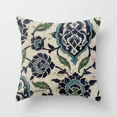 tile design Throw Pillow