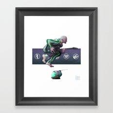 Jump! Framed Art Print