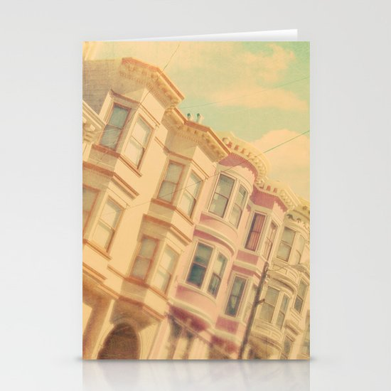 Sweet San Francisco. SF photograph Stationery Cards