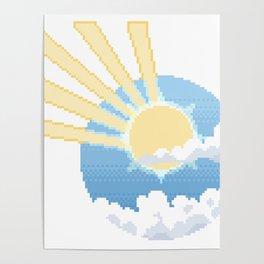 Shooting Sunbeams Poster