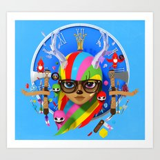 Your disco is Dead 3D Art Print