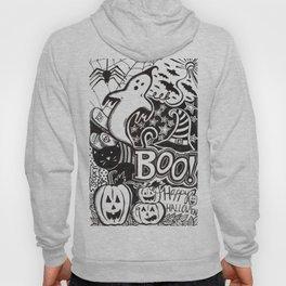 Boo! Happy Halloween! Hoody