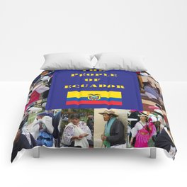 The People of Ecuador, Collage Comforters