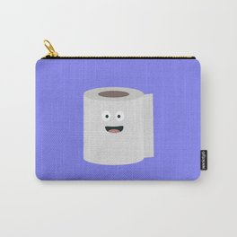 Toilet paper with face Carry-All Pouch