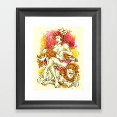 F.B.L Framed Art Print