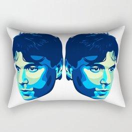 David and Goliath  Rectangular Pillow