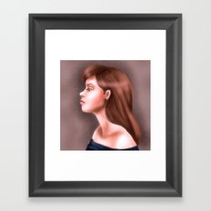 Young and Beautiful Framed Art Print