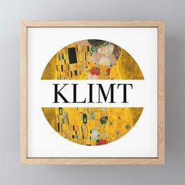 Klimt Framed Mini Art Print