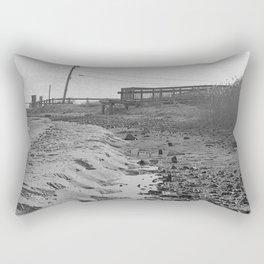 Low Tide Rectangular Pillow