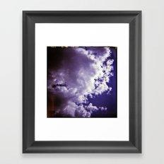 Lomographic Sky 4 Framed Art Print